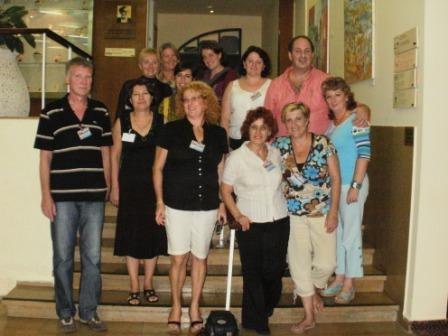 The Lecturers at the hotel before the conference