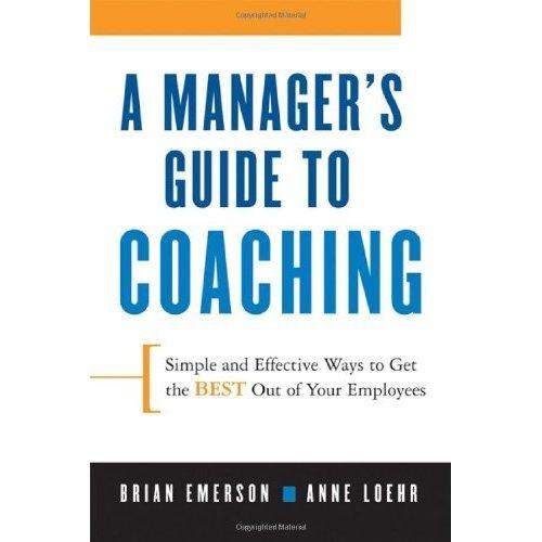 a manger's guide to coaching