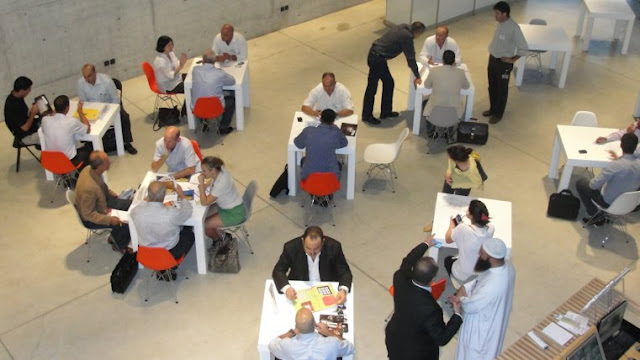 Networking event for Israeli and Palestinian businesspeople