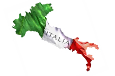 italian flag map226X150 copy