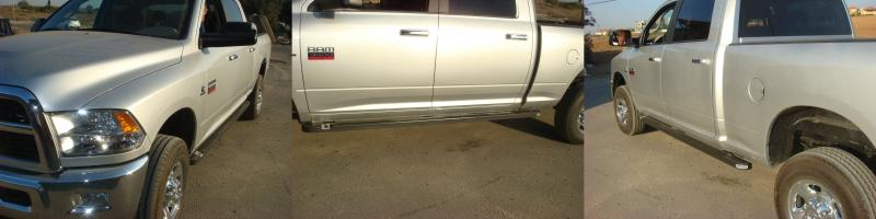 DODGE RAM 3500 reinforced step