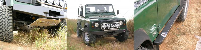 LANDROVER DEFENDER SHORT
