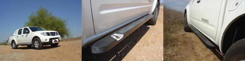 NISSAN NAVARA Rock Sliders