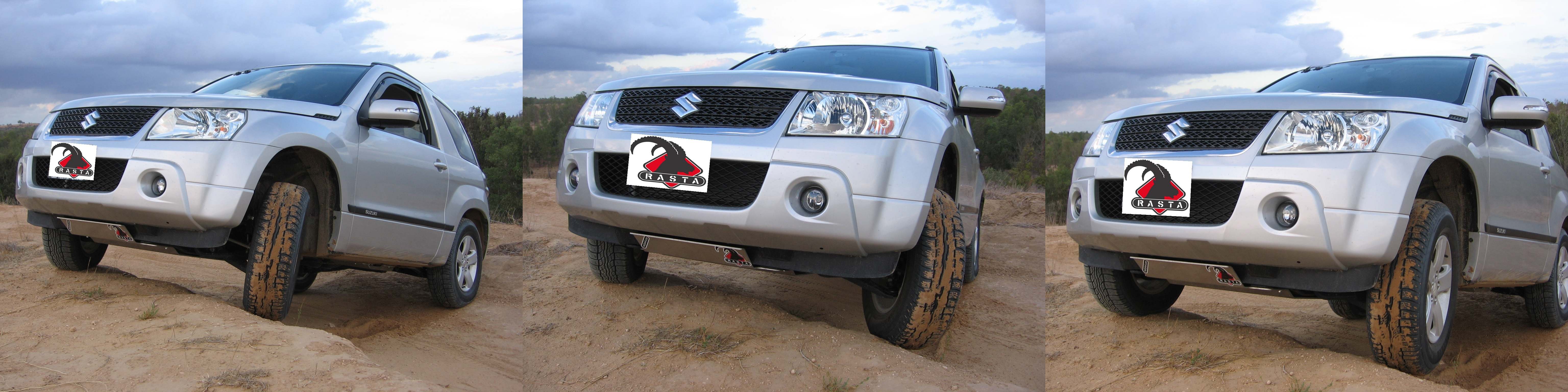 SUZUKI GRAND VITARA  SHORT Skid Plate